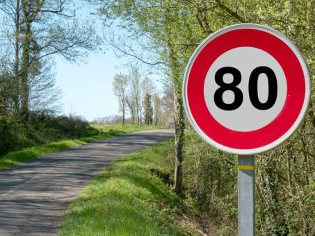 » La limitation à 80km/h entre en vigueur dimanche