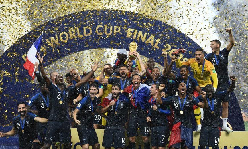 » Vingt ans après, la France à nouveau championne du monde de football
