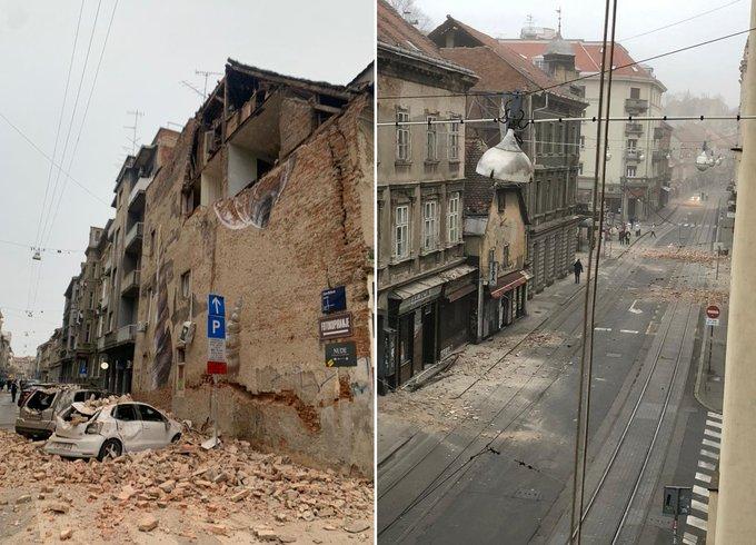 » Un séisme ébranle Zagreb en pleine crise du coronavirus